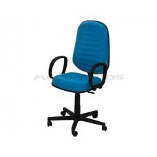 Cadeira Presidente Giratória Rubi Costurada (Vm756)