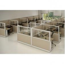 Estação de Trabalho IP Premium c/ Biombos Estruturais (VM023)